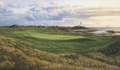 10th Hole, Turnberry, Dinna Fouter - Linda Hartough