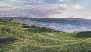 11th Hole Ballybunion Golf Club - Linda Hartough