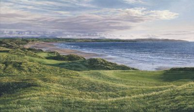 11th Hole Ballybunion Golf Club - Linda Hartough