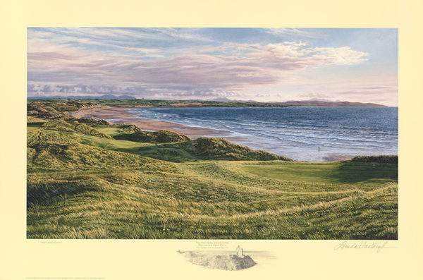 11th Hole Ballybunion Golf Club - Linda Hartough (Paper Edition)