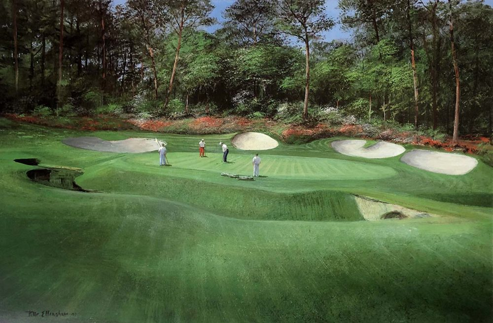 13th Hole at Augusta - Peter Ellenshaw
