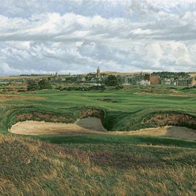 14th Hole, St Andrews, The Old Course - Linda Hartough