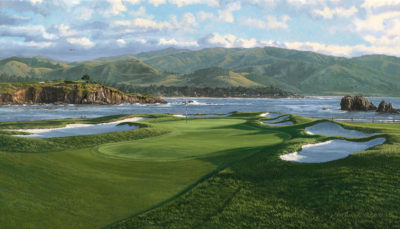 17th Hole, Pebble Beach Linda Hartough