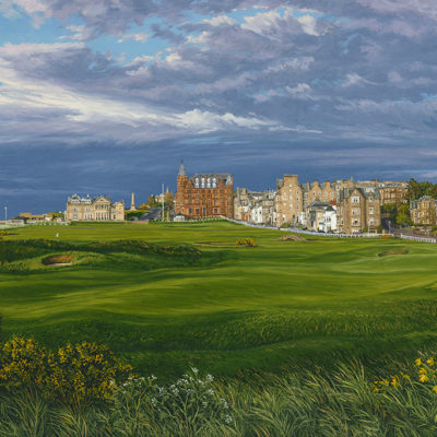 17th Hole, Road Hole, St Andrews 2015 - Linda Hartough