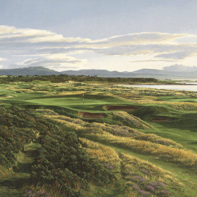 17th Hole and Links, Royal Dornoch - Linda Hartough