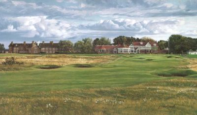 18th Hole, Muirfield, 1992 - Linda Hartough