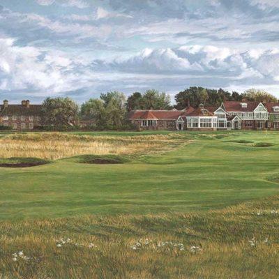 18th Hole, Muirfield, 1992 - Linda Hartough