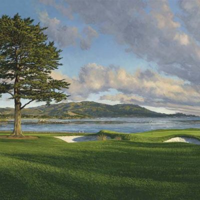 18th Hole, Pebble Beach Linda Hartough
