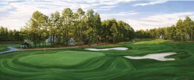 18th Hole, Pinehurst Golf Club, No. 2 Course - Linda Hartough