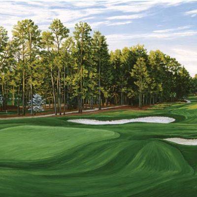 18th Hole, Pinehurst Golf Club, No. 2 Course - Linda Hartough