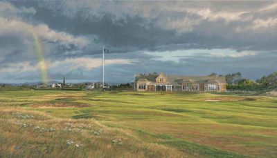 18th Hole, Royal Troon, Craigend - Linda Hartough