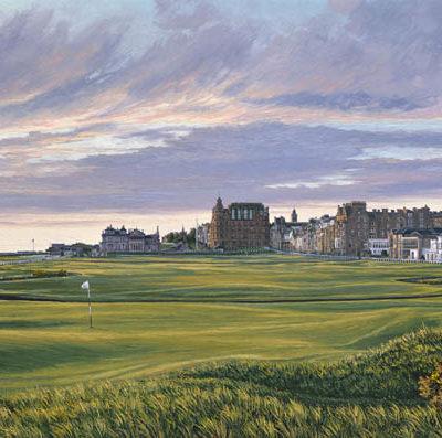 1st Hole, St Andrews - 376 Yards - Par 4 - Linda Hartough
