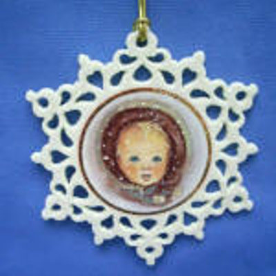 2007 Snowflake Ornament Snowflake Series 1st In Series Trisha Romance