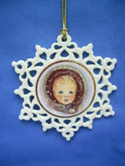 2007 Snowflake Ornament Snowflake Series 1st In Series Trisha Romance
