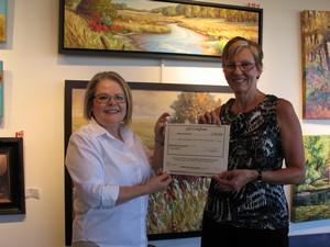 2015-07-01 July Draw Contest Winner - Debra Seward