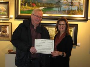 2016-09-30 - Pat & Brenda Latham - $250 Custom Framing Winner
