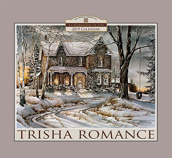 2019 Calendar - Trisha Romance