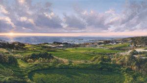 3rd Hole, Spyglass Hill Golf Course Linda Hartough