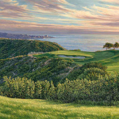 3rd Hole, Torrey Pines, South Course, 2008 U.S. Open Championship Linda Hartough