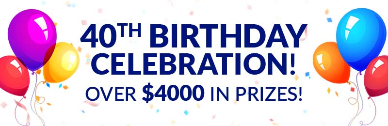 40th Birthday Celebration Contest