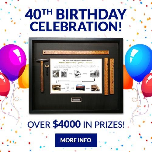 40th Birthday Celebration - Square Slide