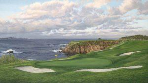 8th Hole, Pebble Beach Linda Hartough