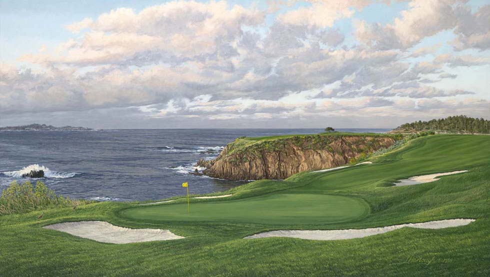 8th Hole, Pebble Beach Linda Hartough