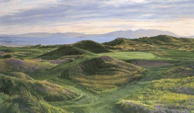 8th Hole, 'Postage Stamp', Royal Troon - Linda Hartough