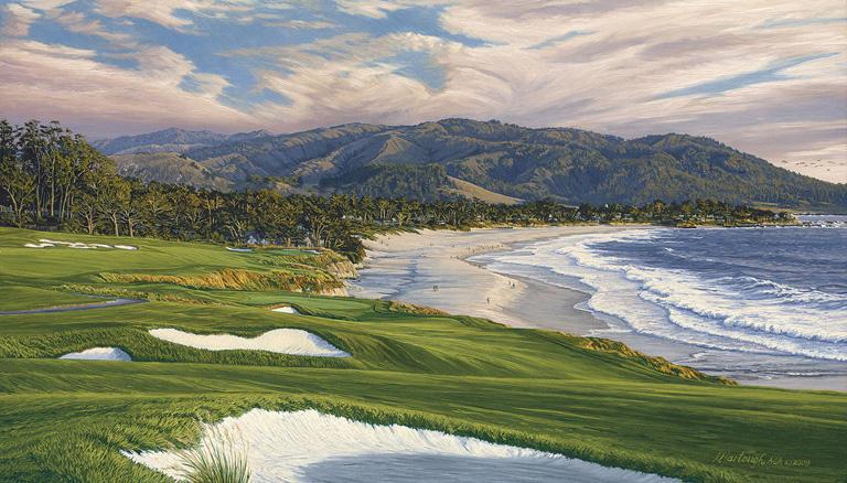 9th Hole, Pebble Beach Golf Links 2010 U.S. Open Championship Linda Hartough