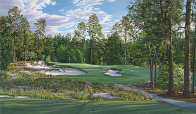 9th Hole, Pinehurst No. 2 – 2014 U.S. Open Championship and U.S. Open Women's Championship - Linda Hartough