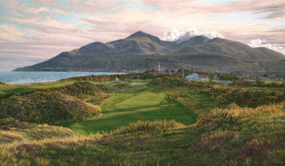 9th Hole, Royal County Down Linda Hartough