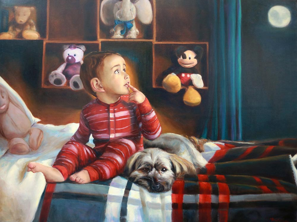 A Boy His Dog and his Dreams - Michelle Murray