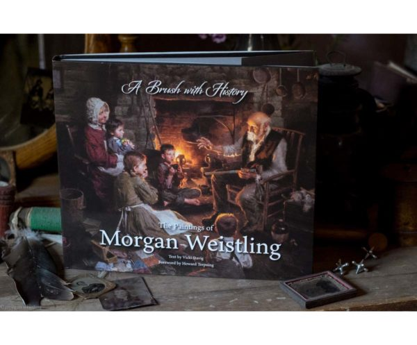 A Brush With History - The Paintings of Morgan Weistling - Book - Morgan Weistling (Display)