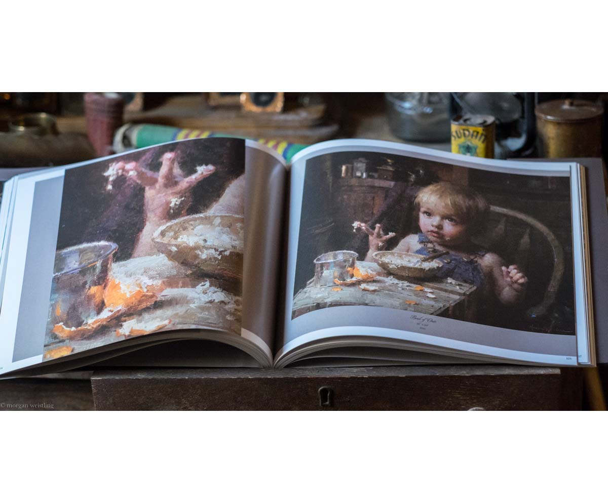 A Brush With History - The Paintings of Morgan Weistling - Book - Morgan Weistling (Inside Book 1)