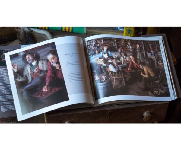 A Brush With History - The Paintings of Morgan Weistling - Book - Morgan Weistling (Inside Book 2)