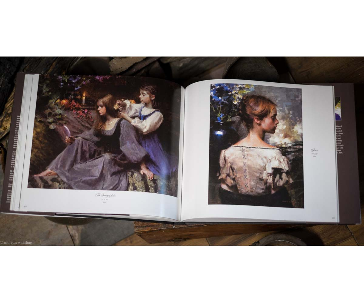 A Brush With History - The Paintings of Morgan Weistling - Book - Morgan Weistling (Inside Book 3)