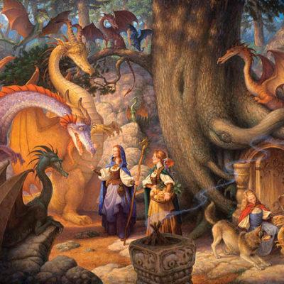 A Confabulation Of Dragons Scott Gustafson
