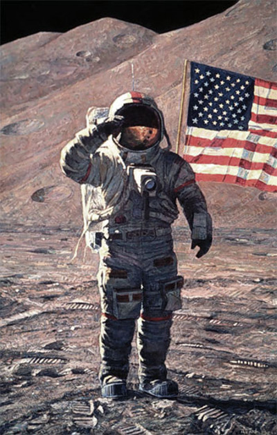 A Fire To Be Lighted Alan Bean