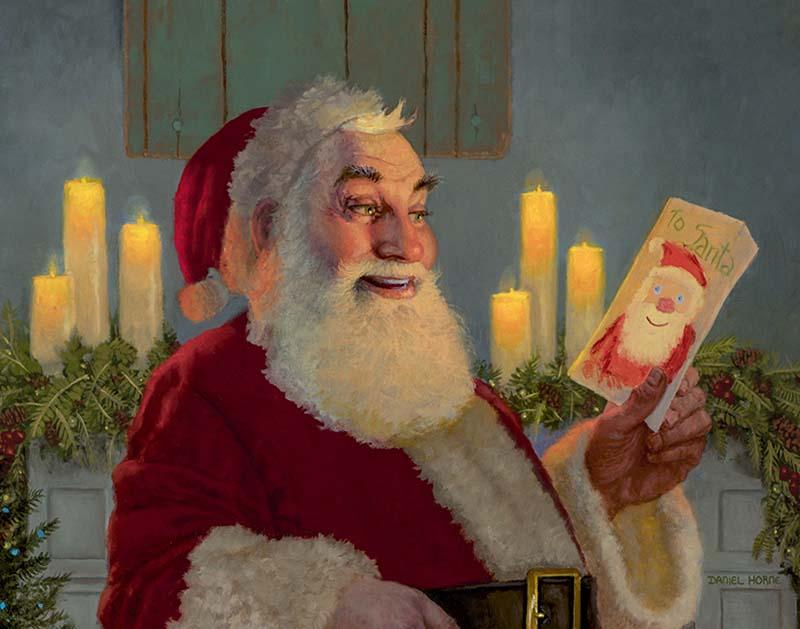 A Gift for Santa (Detail) - Daniel Horne