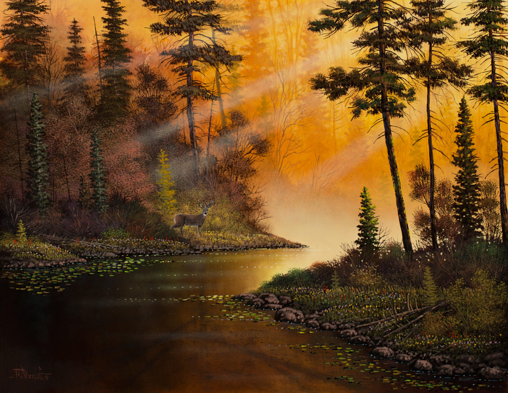 A Golden Moment - Roger Arndt