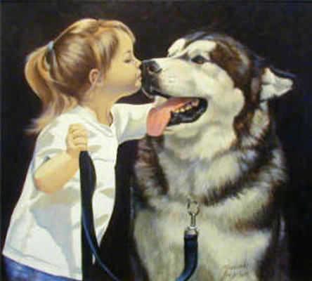 A Kiss For Good Luck Maurade Baynton