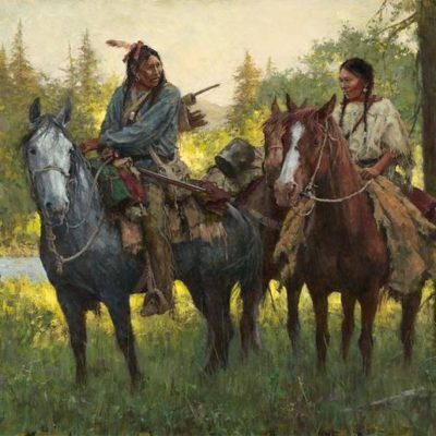 A New Beginning Howard Terpning