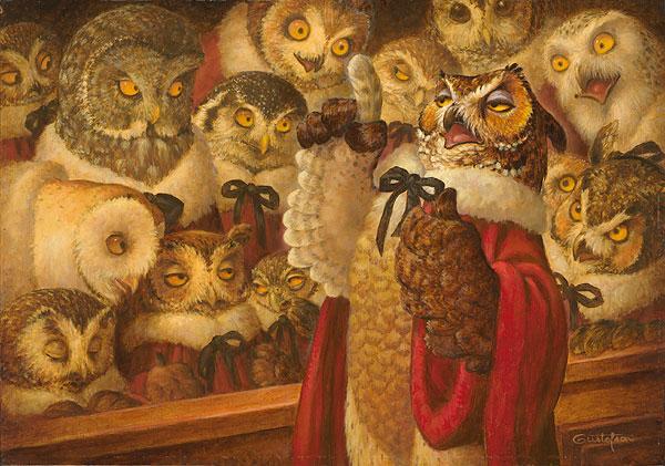 A Parliament Of Owls Scott Gustafson