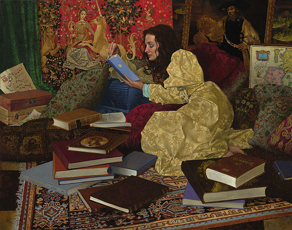 A Place Of Her Own James Christensen
