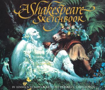 A Shakespeare Sketchbook - James Christensen