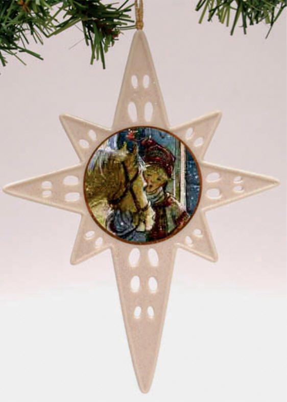 A Star For Christmas 3rd In Series Ornament Trisha Romance