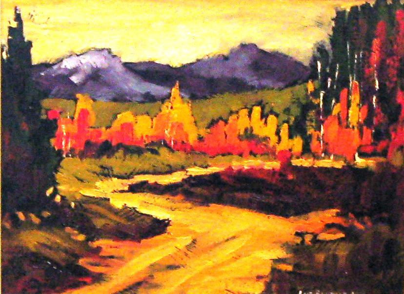 Abraham Lake Trail Lois Bauman