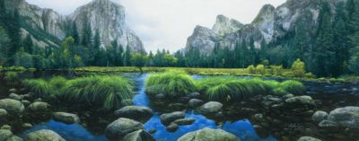 Ahwahnee The Deep Grassy Valley Stephen Lyman