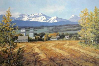 Alberta Panorama Isabel Levesque