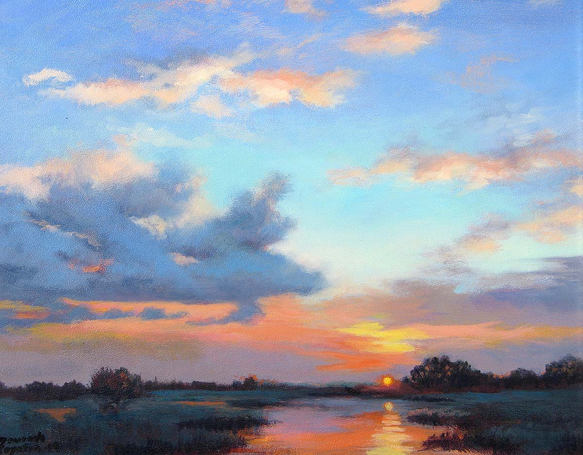 Alberta Sunset - Maurade Baynton